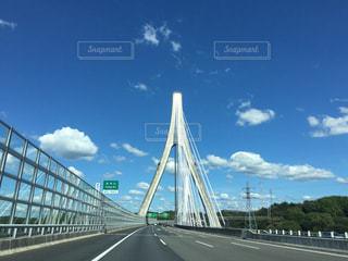 水域に架かる橋の写真・画像素材[2424603]