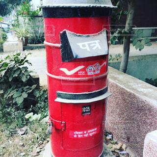 インドの郵便ポストの写真・画像素材[1822292]