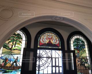 ステンドグラスの写真・画像素材[1823147]