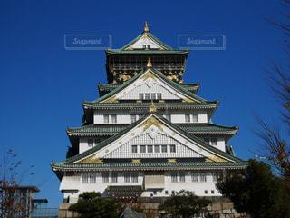 大阪城の前の時計塔 - No.1265944