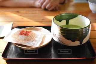 抹茶ですの写真・画像素材[1826815]