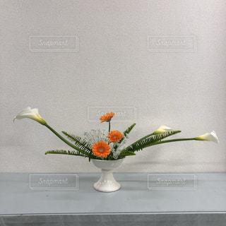 春の生け花の写真・画像素材[1823499]