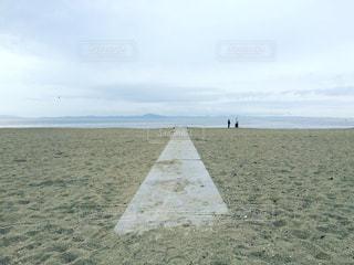 海岸へ続く道の写真・画像素材[1829615]