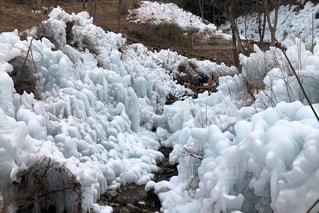 氷柱の写真・画像素材[1827209]