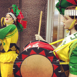 東北の伝統祭りの写真・画像素材[1836907]