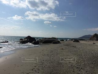 砂浜の写真・画像素材[1829092]