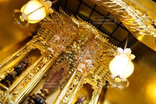 輝く仏壇仏具の写真・画像素材[2955307]