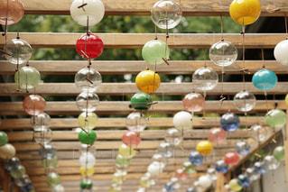 川越の氷川神社で撮影した風鈴の写真・画像素材[1830095]