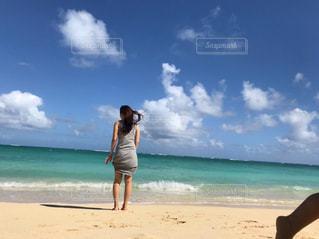 ラニカイビーチの写真・画像素材[1830790]
