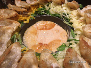 チーズタッカルビ餃子の写真・画像素材[1831911]