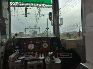 電車の運転席の写真・画像素材[1832797]
