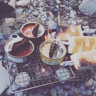 炭火焼缶詰カレーの写真・画像素材[1834320]