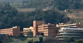 広島経済大学全景の写真・画像素材[1840497]