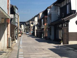 三次 うだつのある街並みの写真・画像素材[2033826]