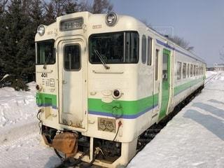 新十津川駅とキハ40の写真・画像素材[1836606]