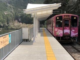 清流みはらし駅 ホームしかない駅の写真・画像素材[1878300]