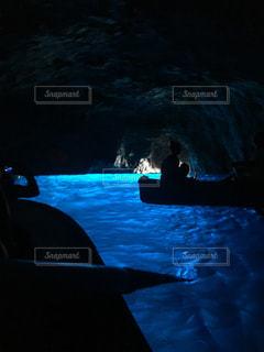 カプリ島の青の洞窟の写真・画像素材[1840409]