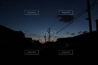 停電の夜の写真・画像素材[1837486]