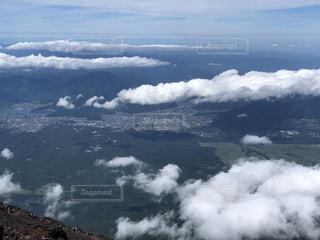 富士山頂の景色の写真・画像素材[1840077]