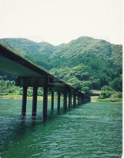 四万十川の沈下橋ですの写真・画像素材[1849108]