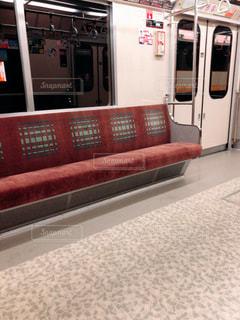 地下鉄車内の写真・画像素材[1866403]