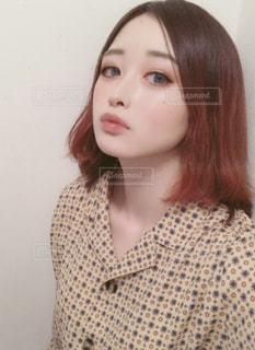 自撮りの写真・画像素材[2011787]