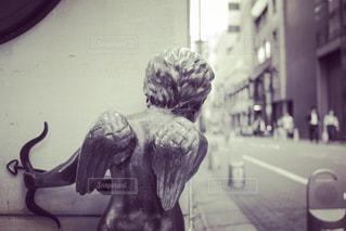 天使の像の写真・画像素材[1842467]