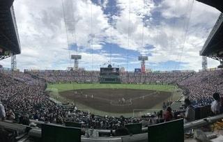 夏疾風 高校野球の写真・画像素材[1841840]