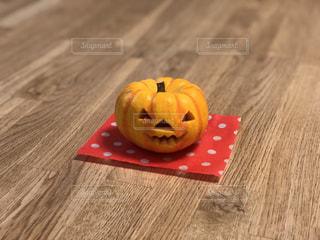 ハロウィン用のかぼちゃの写真・画像素材[2492417]