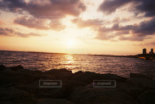 夕日の写真・画像素材[2179139]