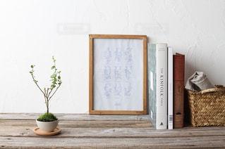 ミニ盆栽のあるお部屋の写真・画像素材[1847816]