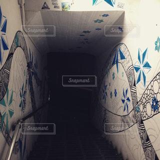 壁の落書きの写真・画像素材[1845846]