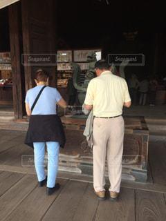 長年連れ添った夫婦の長野旅行の写真・画像素材[1874193]