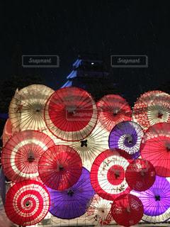 会津若松城のお祭りの写真・画像素材[1919244]