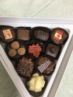 カナダ土産のチョコレートの写真・画像素材[2101197]