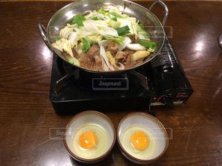 福島の肉鍋の写真・画像素材[2445298]