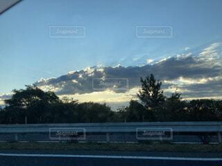 田舎の眺めの写真・画像素材[3878194]