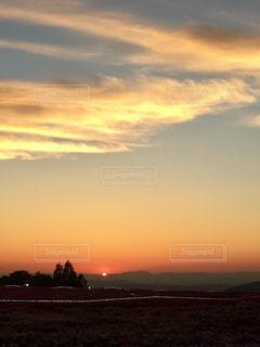 沈む夕陽の写真・画像素材[1857169]