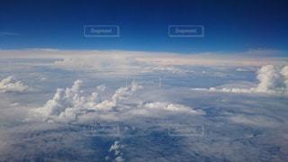雲の上の写真・画像素材[1849804]
