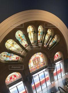 綺麗なステンドグラスの写真・画像素材[1869808]