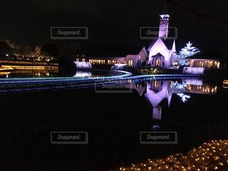ライトアップの写真・画像素材[301843]