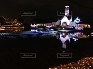 ライトアップの写真・画像素材[301844]