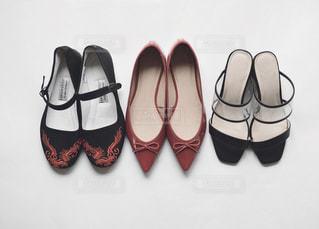 靴の束の写真・画像素材[1851367]
