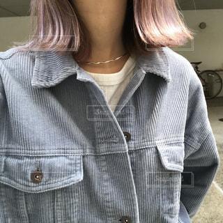 髪色の写真・画像素材[2398437]