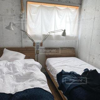 ベッドルームの写真・画像素材[2638724]