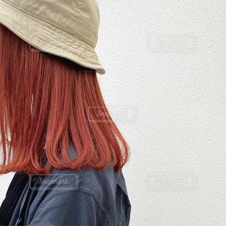 帽子をかぶった人の写真・画像素材[3451318]