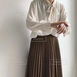 ドレスシャツとネクタイを着た男の写真・画像素材[3643857]