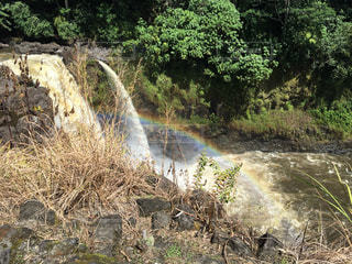 Rainbow over Rainbow fallの写真・画像素材[1852484]