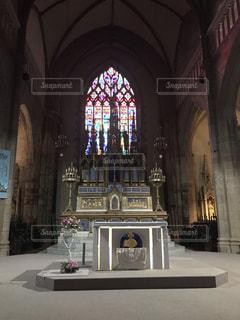 教会の祭壇の写真・画像素材[1868421]