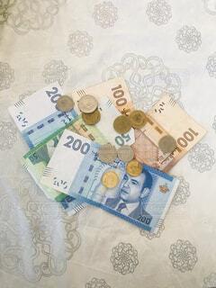モロッコ紙幣の写真・画像素材[4243481]